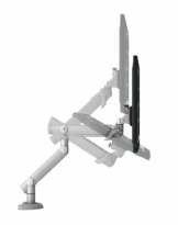 Dynafly Dual Adjustable Monitor Arm - EGDF-202D