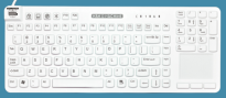 Really Cool Touch Premium Waterproof Keyboard with Touchpad