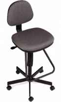Eurotech Drafting Stool with Footrest - JAY500