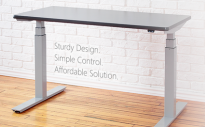 upCentric 2-LEG Height Adjustable Standing Table