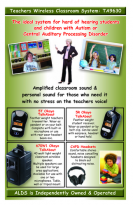 Teachers wireless classroom system - TA9630