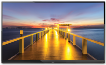 "NEC 65"" LED Backlit Display with Integrated Tuner"