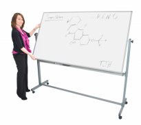 72″ x 40″ Double-Sided Magnetic Whiteboard - MB7240WW