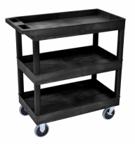 32 x 18 Tub Cart - Three Shelves - EC111HD-B