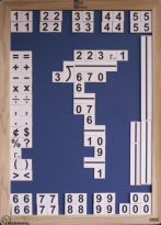 Large Print Basic Math Kit - UEB - MW041