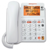 AT&T CL4940 Standard corded Phone - answering machine; backlit display