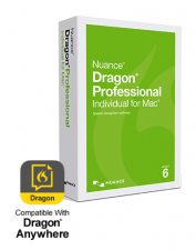 Dragon Pro Individual for Mac 6.0, US English, Academic