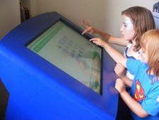 Digital Nursery Tilt and Touch Table