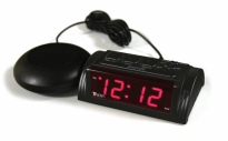 VIBLAT2.0 VibeAlert Bed Shaking Alarm Clock
