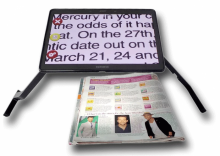 "Mercury 10"" or 12"" Magnifier with Speech - MERCURY"