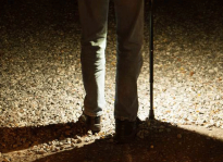StrideLight LED Walking Cane