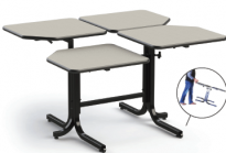 4-Person Wheelchair Accessible Table - BFL-4(2/2)
