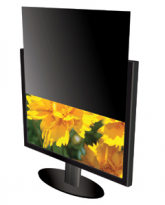 "Secure-View Blackout Privacy Filter - Fits 24"" Widescreen Monitors (16:9 Aspect Ratio)"