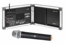 GOSPEAK! PRO Ultra-Portable amplification system with wireless handheld microphone