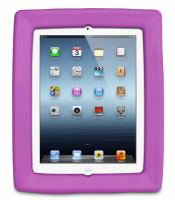 Big Grips Frame - iPad 2/3/4 - Purple