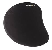 Goldtouch Black Left Handed Slim Lined Gel Filled Mouse Pad