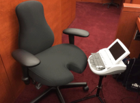 Ergoprise Court Reporter Chair
