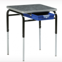 Zenith Tote Tray Student Standing Desk