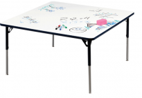 Table Dry Wipe Marker Board - Square