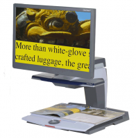 "ClearView + Color TFT 22"" Video Magnifier"