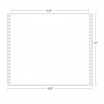"Braille Paper 11""×11.5"" – Tractor feed"