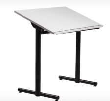 Wheelchair, height adjustable tilt-top desk-30X42