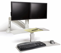 Sit Stand Dual Monitor Workstation - KCS26500