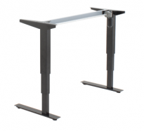 "Conset height adjustable  (21"" - 47"") desk base 501-37"