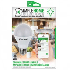 Simple Home Dimmable Smart LED Light Bulb
