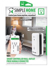 Simple Home Smart Wifi Controlled Wall Outlet