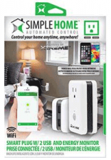 Simple Home Smart Wi-Fi Plug with Energy Monitor
