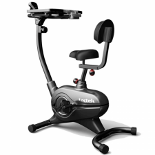 Loctek UF4M Exercise Bike Fitness Magnetic Recumbent Bike with Tabletop Design for Office