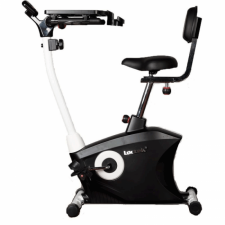 Loctek UF6M Exercise Bike Fitness Magnetic Recumbent Bike with Tabletop Design for Office