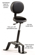 TA-300 Industrial Sit Stand Stool Chair