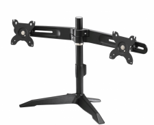 Dual Monitor Mount With Desk Stand