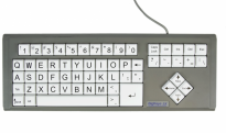 BigKeys LX - White, QWERTY