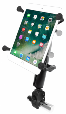 "RAM Small Tough-Claw Base with Long Double Socket Arm and Universal X-Grip Cradle for 7"" Tablets"