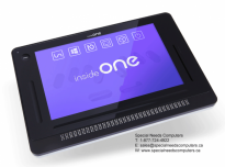 insideONE: Tactile Braille Tablet (Windows 10)