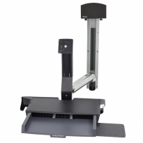 StyleView® Sit-Stand Combo System with Worksurface
