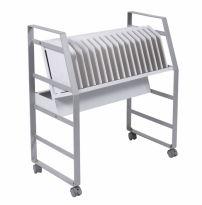Luxor 16 Tablet/Chromebook Open Charging Cart - LOTM16