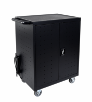Lexor 32 Laptop/Chromebook Charging Cart with Timer - LLTP32-B