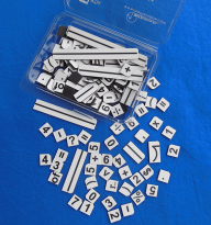 Math Challenged Replacement Tiles - MW023