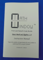Replacement manual - Braille Basic Math & Algebra kits - NEMETH - IM011