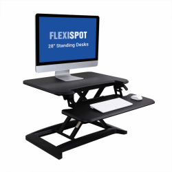 Alcove Series Standing Desk Converters - M7B or M7MB