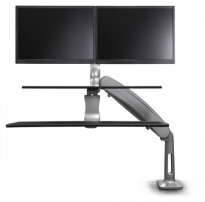 S2S Dual Comfort-Plus Sit-Stand Workstation - S2S-CP2