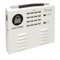 Lock n Charge iQ 16 Sync Charge Box with Lightning Cables - LNC7001