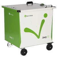 LocknCharge Joey 30 Cart with Large Baskets - 10196