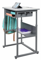 STUDENT-M - Student Desk - Manual Adjustable Desk