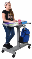 Student Desk - Sit Stand Desk with Crank Handle - STUDENT-C