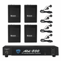 Multiple VHF Wireless Assistive Listening System - ALD-800